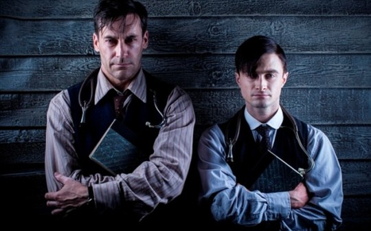 Daniel Radcliffe, Jon Hamm, A Young Doctor's Notebook
