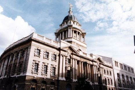 Exterior view of the 'Old Bailey