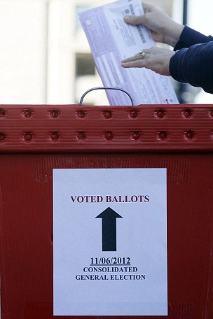 US election, voting