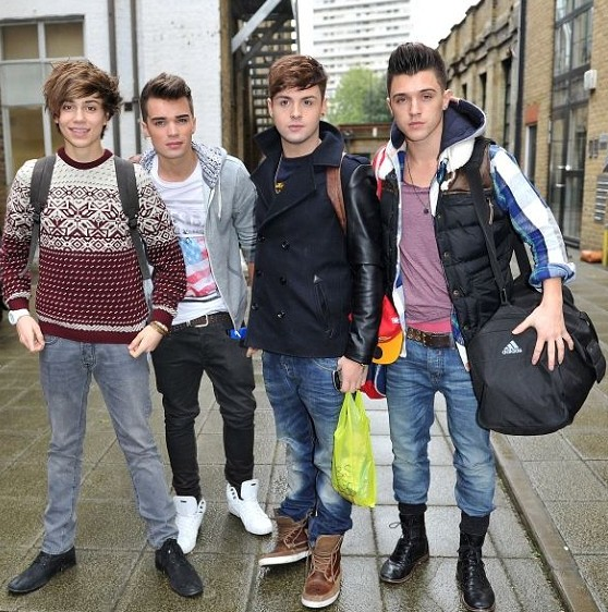 X Factor boyband Union J sign a deal with RCA Records