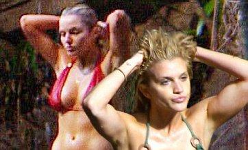 Battle of the bikini babes as Helen Flanagan and Ashley Roberts strip