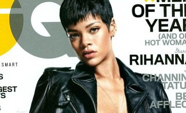 Rihanna strips off as she admits she likes to be dominated in the bedroom