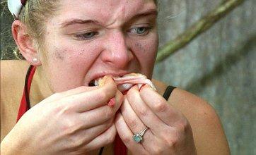 I'm A Celebrity's Helen Flanagan feasts on camel toe but Nadine Dorries wins trial