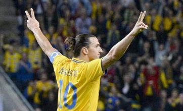 Zlatan Ibrahimovic's four-goal haul earns rave reviews