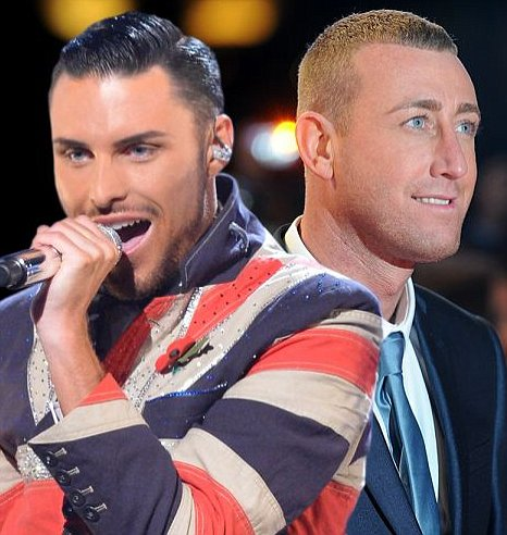 Rylan Clark and Christopher Maloney