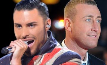 The X Factor's Christopher Maloney and Rylan Clark 'in backstage bust-up'