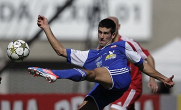 Novak Djokovic shows off footballing ability as he scores in charity match
