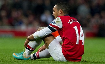 Theo Walcott ruled out of Arsenal v Montpellier with shoulder injury