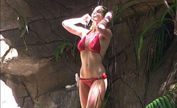 I'm A Celebrity's Helen Flanagan strips off for jungle shower as Hugo Taylor attempts trial