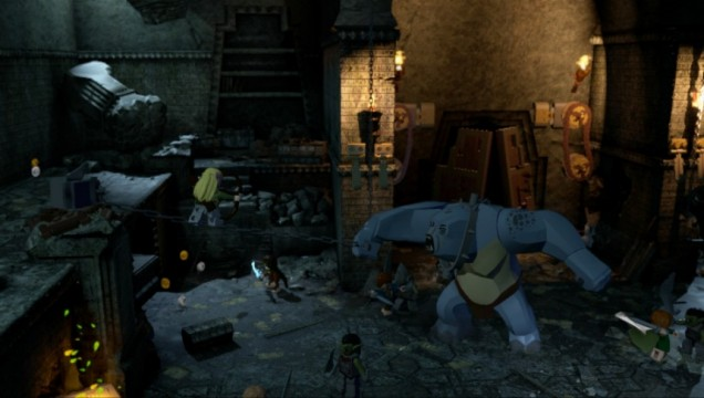 Lego The Lord Of The Rings (360) – they have a cave troll