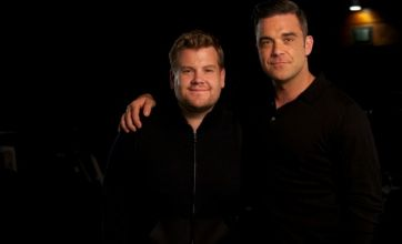 Sky releases trailer for James Corden interview with Robbie Williams