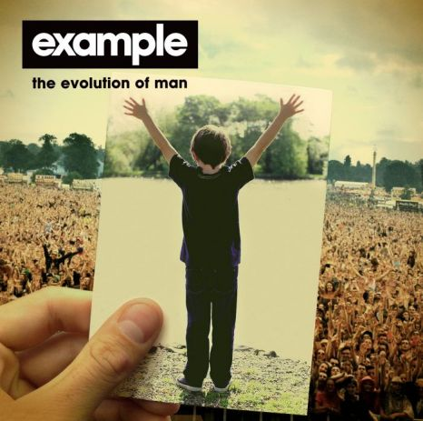 Example, the evolution of man