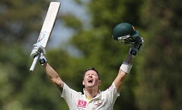 Australia's Michael Clarke makes Test history with fourth double century