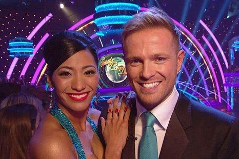 Nicky Byrne, Karen Hauer, Strictly Come Dancing