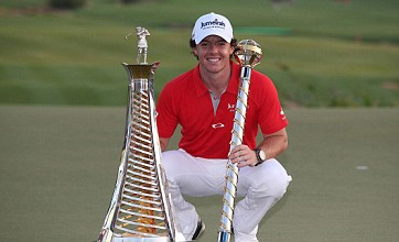 Rory McIlroy wins fifth title of the season at World Tour Championships