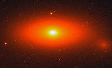 Super-sized black hole is a 'space oddity' for scientists