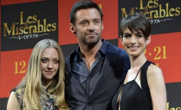Anne Hathaway is the star of the show as Les Miserables premieres in Japan