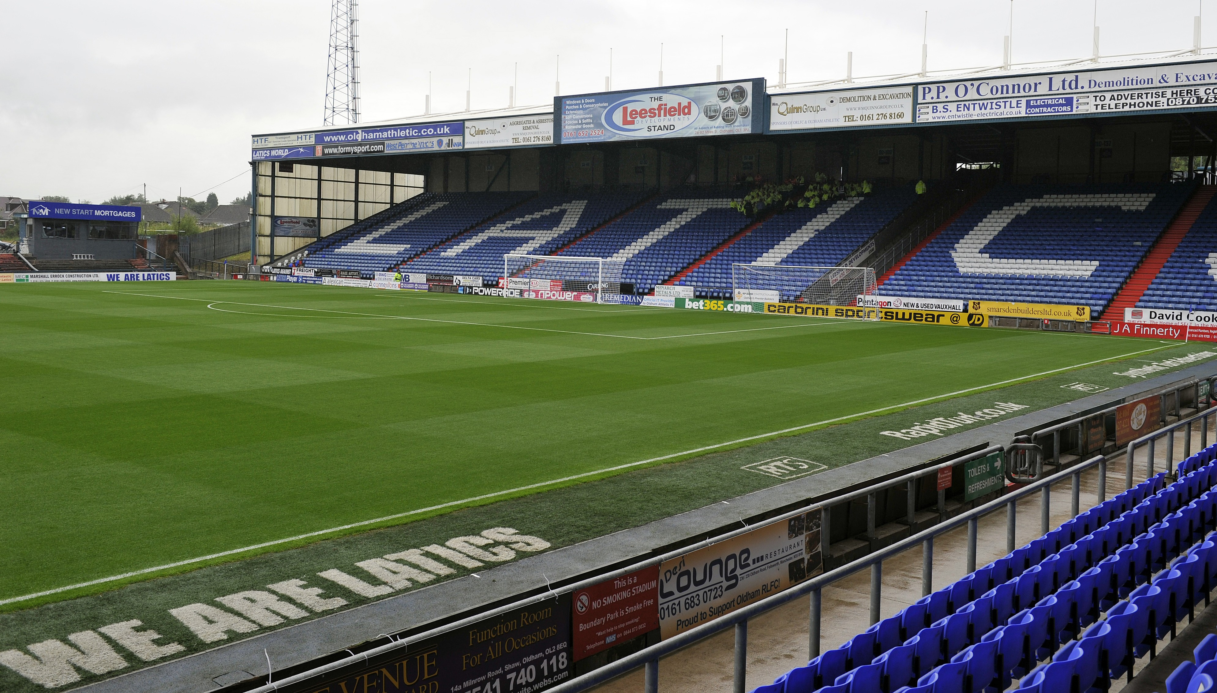 Oldham beg their supporters to stop setting fire to rival fans' hair