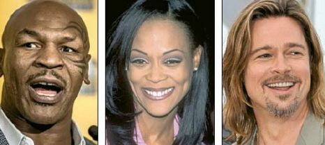 Love triangle: Tyson, Givens and Pitt
