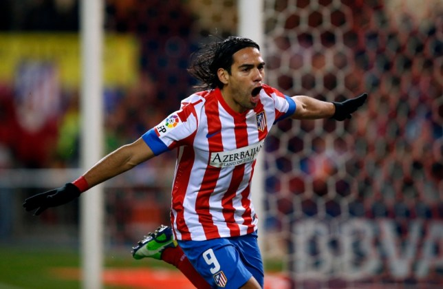 Radamel Falcao scored five goals against Deportivo at the weekend (Picture: Reuters)