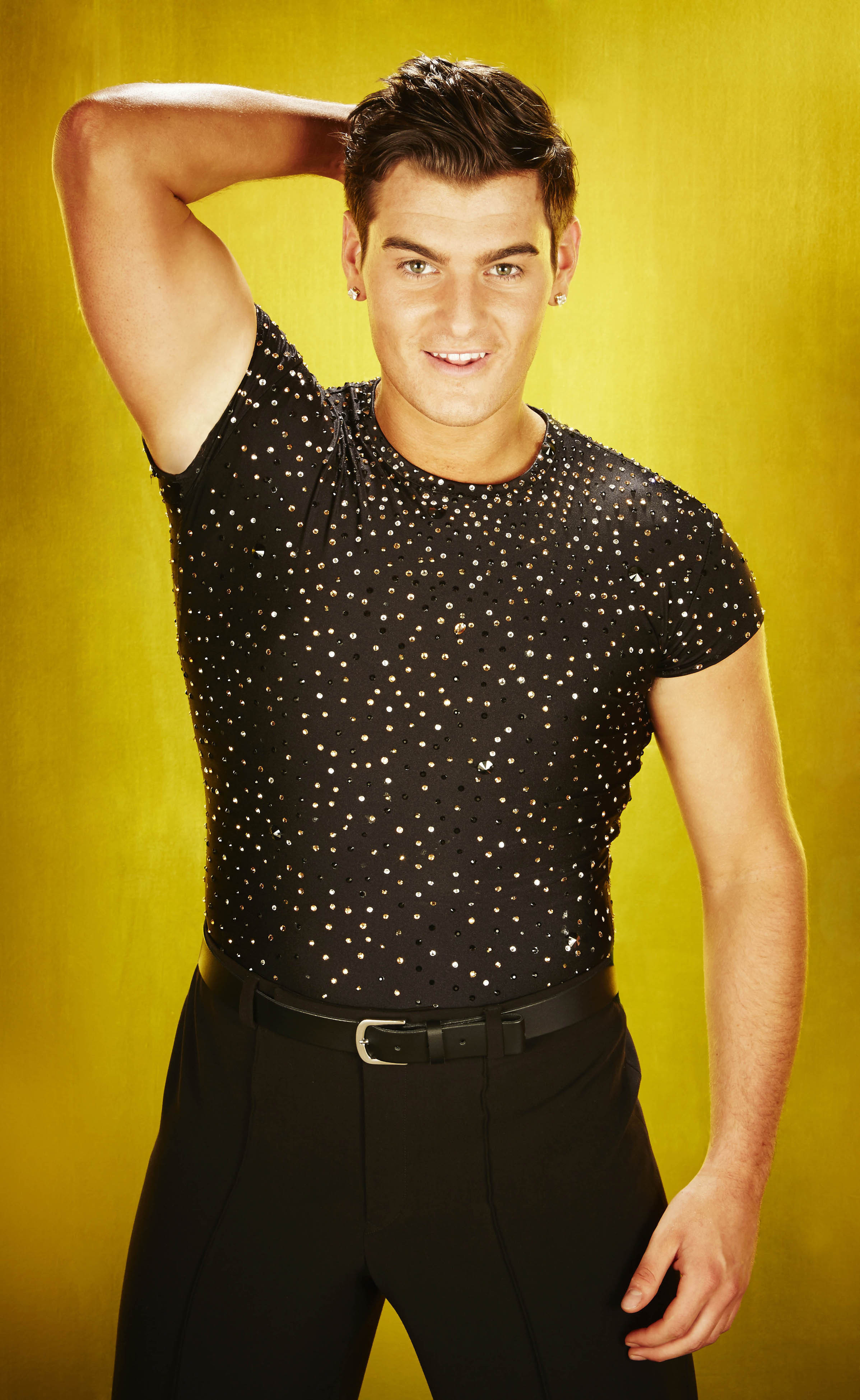 Matt Lapinskas early favourite to become Dancing On Ice champion