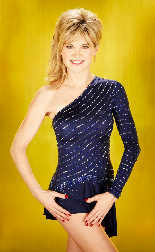 Television personality Anthea Turner (ITV/PA)