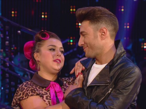 Dani Harmer finishes fourth in Strictly Come Dancing final