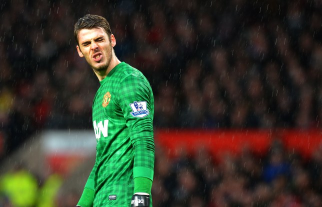 Sir Alex Ferguson appears to have finally lost patience with David de Gea (Picture: AFP)