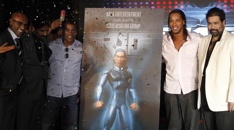 Blackburn owners sign up Ronaldinho to make new film fighting aliens