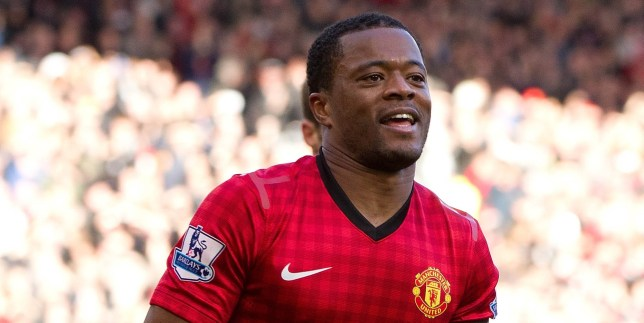 On the way out? Patrice Evra  is wanted by PSG in January (Picture: Daily Mail)