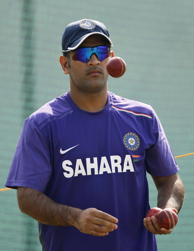 MS Dhoni has seen his India side lose two of the last three Tests against England (Picture: AP)