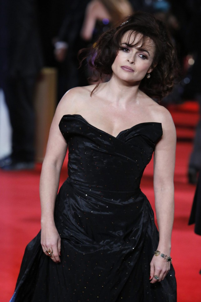 Helena Bonham Carter on the red carpet (EPA)