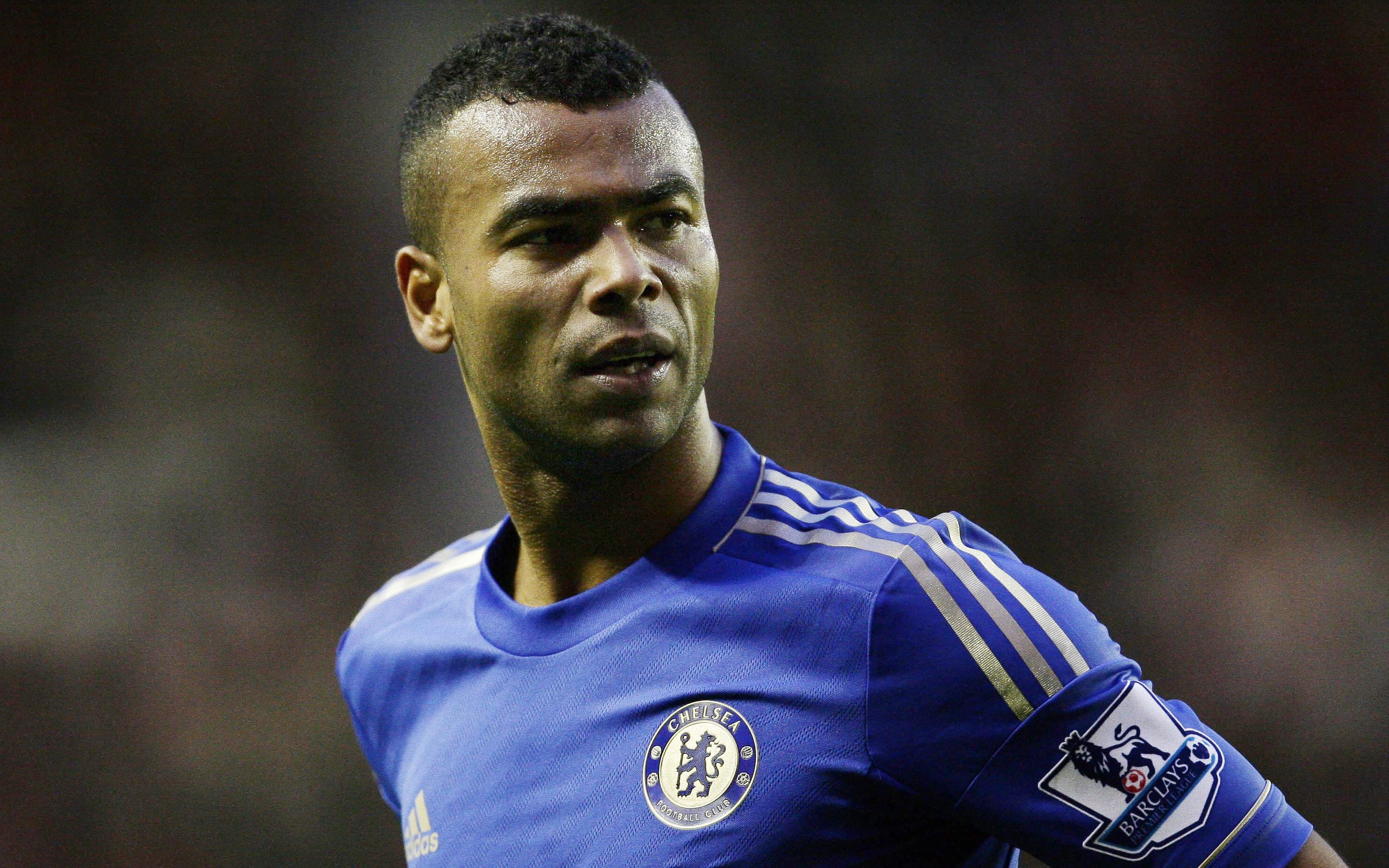 Ashley Cole turns waiter for his team-mates after losing bowling challenge
