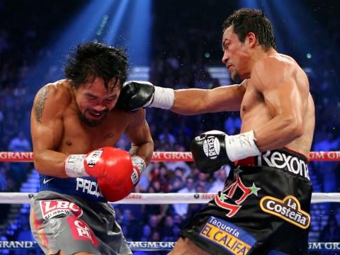 Manny Pacquiao v Juan Manuel Marquez 8 December 2012
