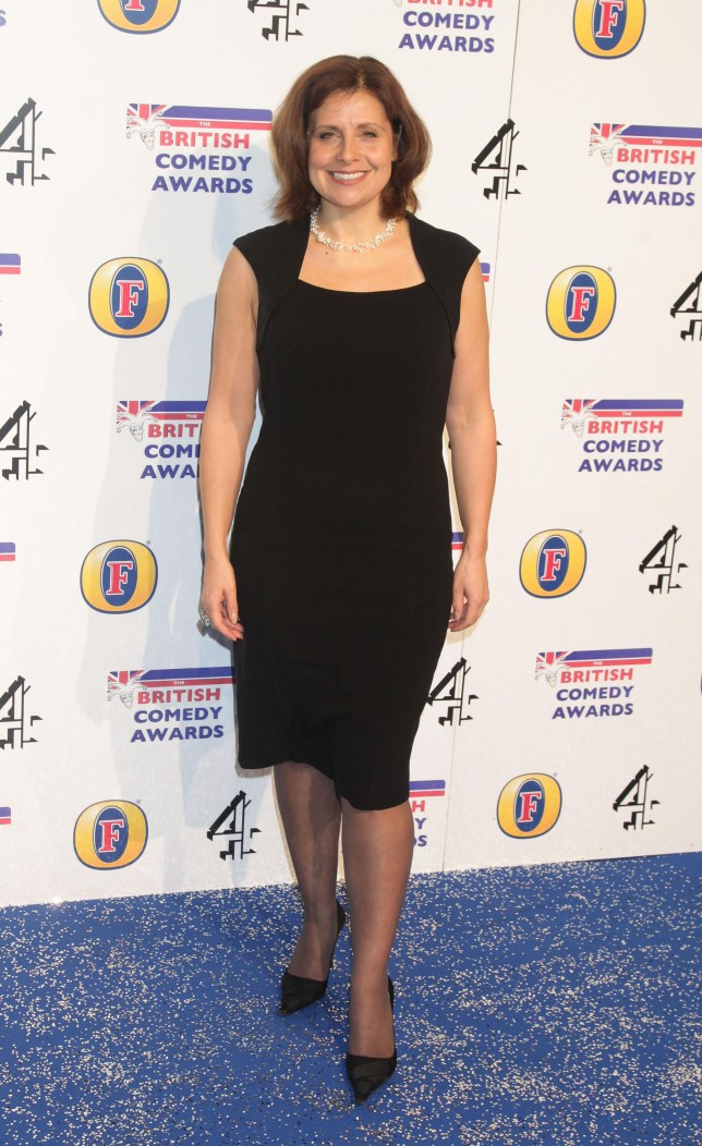 Rebecca Front arriving for the Britsih Comedy Awards (PA)
