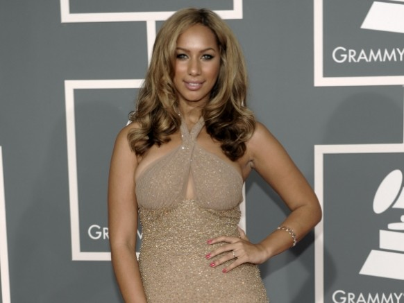 Leona Lewis arrives at the 51st Annual Grammy Awards