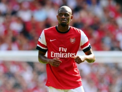 Arsenal boss Arsene Wenger 'gives up on crocked midfielder Abou Diaby'