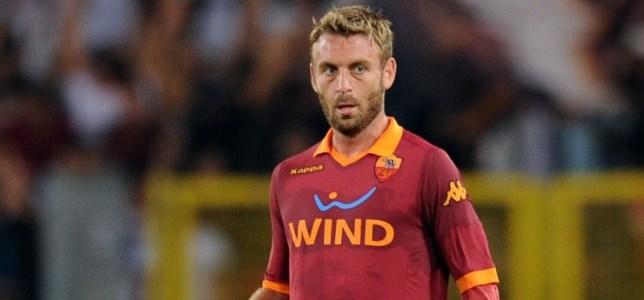 Poor: Daniele De Rossi's attitude has been questioned in recent weeks (Picture: Getty)