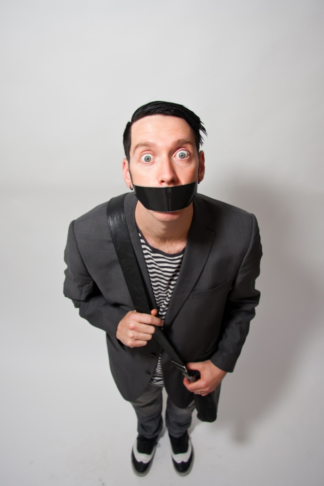 Sam Wills: Tape Face was a five-minute novelty, now it's a West End show
