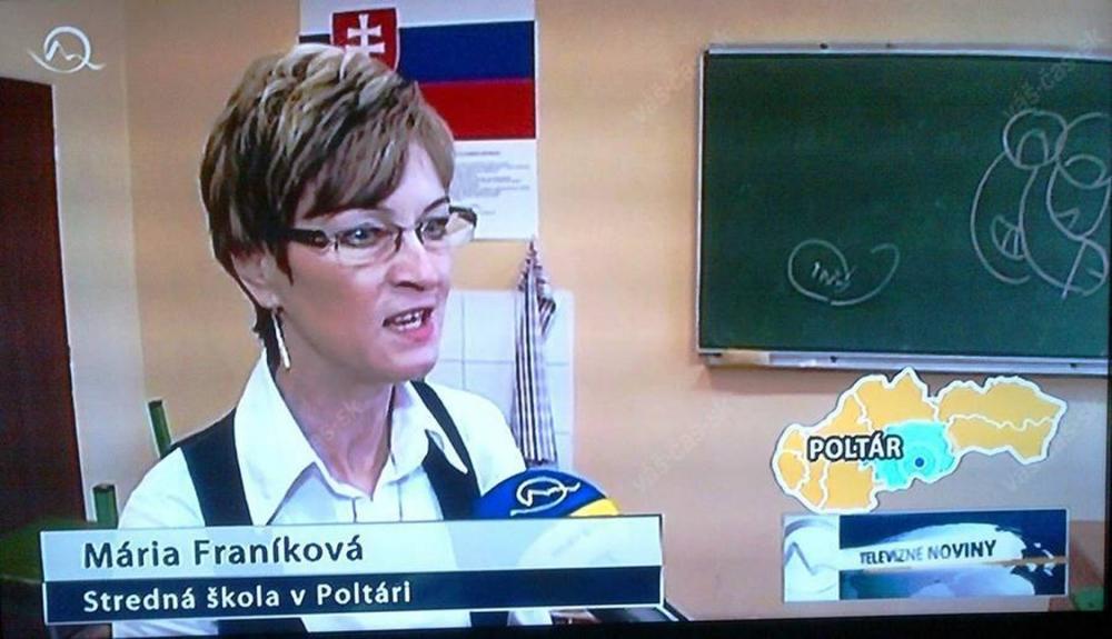 Cartoon penis shown on TV