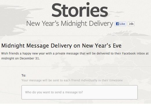 Facebook's Midnight Delivery messaging service