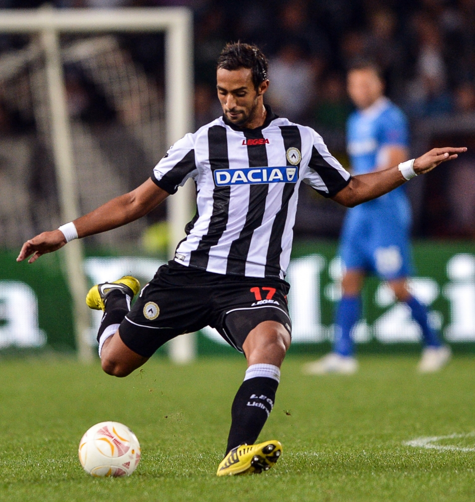 Premier League trio set to miss out on Udinese defender Mehdi Benatia