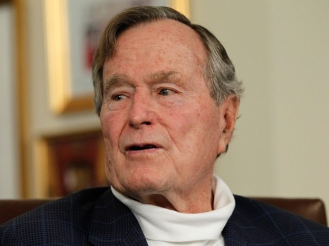 George HW Bush in intensive care with 'stubborn fever' as fears for health grow