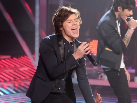 One Direction prise Harry Styles away from Taylor Swift for X Factor USA final