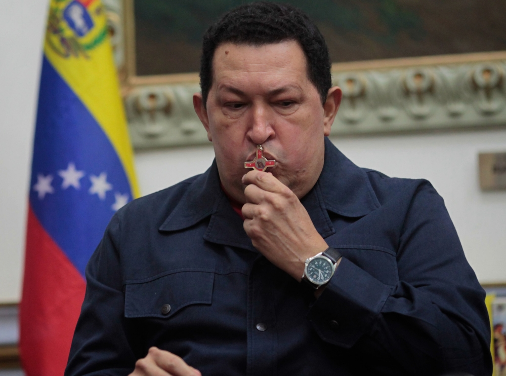 Venezuela president Hugo Chavez suffering 'severe' infection after cancer surgery