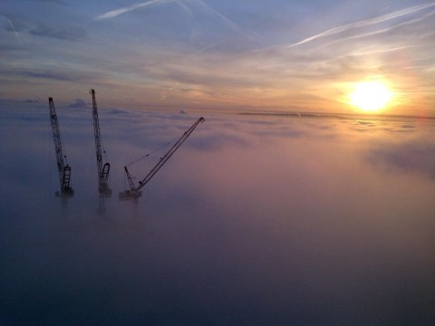 Fog and Ice across the UK 12th December 2012