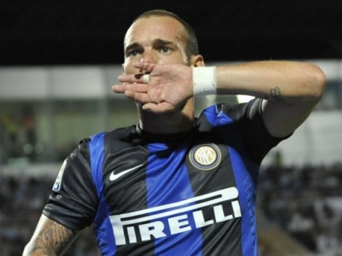 PSG set to rival Manchester United for Wesley Sneijder