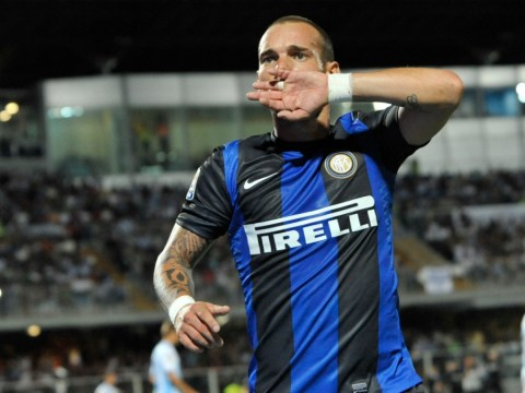 Wesley Sneijder wants 'top Premier League club' – Manchester United, City and Spurs on alert