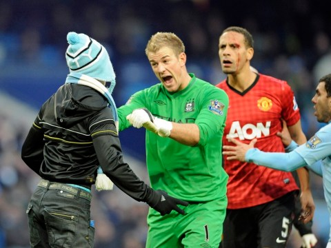 Rio Ferdinand coin incident in Manchester derby prompts PFA to call for netting at grounds