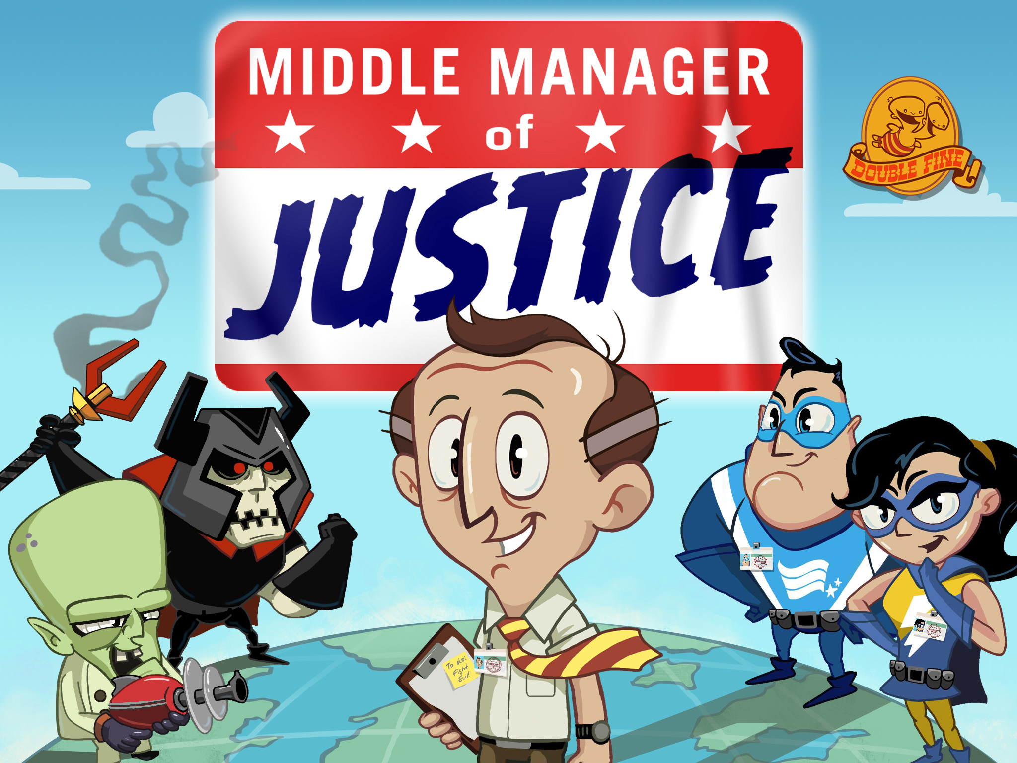 Middle Manager Of Justice review – accountants assemble